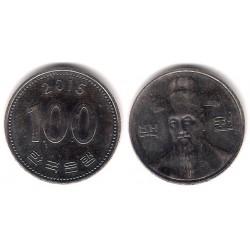 (35.2) Corea del Sur. 2015. 100 Won (SC)