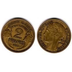 (886) Francia. 1933. 2 Francs (MBC)