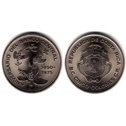 (203) Costa Rica. 1975. 5 Colones (SC)
