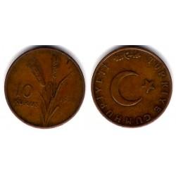(891.2) Turquia. 1970. 10 Kurus (MBC)