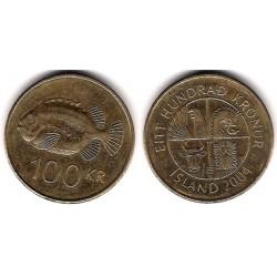 (35) Islandia. 2004. 100 Kronur (MBC)