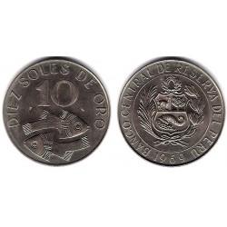 (253) Perú. 1969. 10 Soles de Oro (SC)