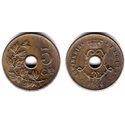 (55) Bélgica. 1906. 5 Centimes (MBC)