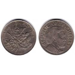 (25) Seychelles. 1976. 50 Cents (MBC)