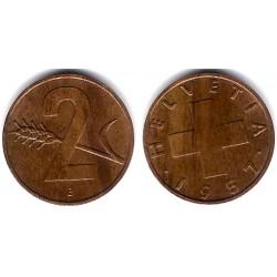 (47) Suiza. 1957(B). 2 Rappen (EBC)