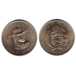 (258) Perú. 1974. 10 Soles de Oro (EBC+)