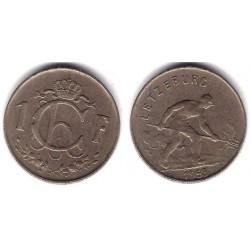 (46.2) Luxemburgo. 1953. 1 Franc (MBC)