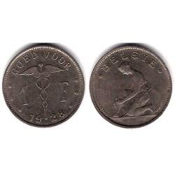 (23) Bélgica. 1923. 1 Franc (MBC)