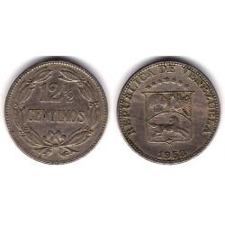(Y39) Venezuela. 1958. 12½ Céntimos (MBC)