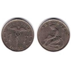 (23) Bélgica. 1922. 1 Franc (MBC)
