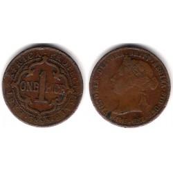 (1) África Oriental. 1898. 1 Pice (BC)