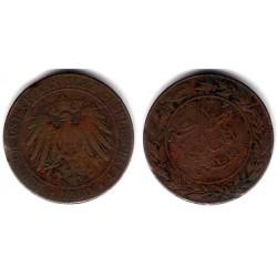 (1) África Oriental Alemana. 1890. 1 Pesa (BC-)