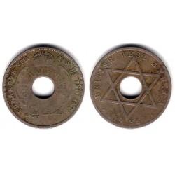 (15) África Oeste Británica. 1936. Half Penny (BC-)