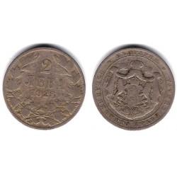 (38) Bulgaria. 1925. 2 Leva (MBC)