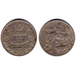 (40) Bulgaria. 1930. 10 Leva (BC+)