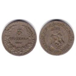 (24) Bulgaria. 1912. 5 Stotinki (MBC)