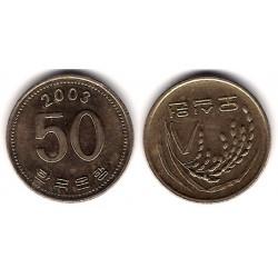 (34) Corea del Sur. 2003. 50 Won (MBC+)