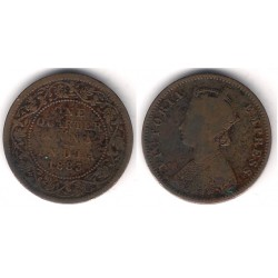 (486) India Británica. 1883. Quarter Anna (BC+)