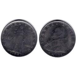 (64.2) Ciudad del Vaticano. 1960. 100 Lira (MBC)
