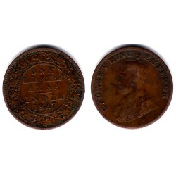 (512) India Británica. 1927. Quarter Anna (MBC)