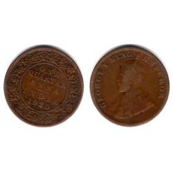 (512) India Británica. 1920. Quarter Anna (BC+)
