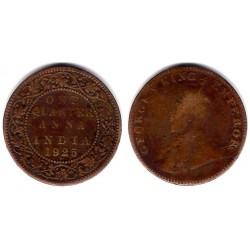 (512) India Británica. 1925. Quarter Anna (BC-)