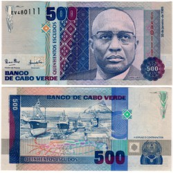 (59a) Cabo Verde. 1989. 500 Escudos (SC)
