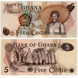 (15b) Ghana. 1977. 5 Cedis (SC)