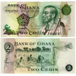 (14c) Ghana. 1977. 2 Cedis (SC)