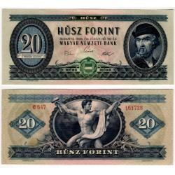 (169e) Hungria. 1969. 20 Forint (SC-)