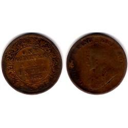 (512) India Británica. 1935. Quarter Anna (BC-)