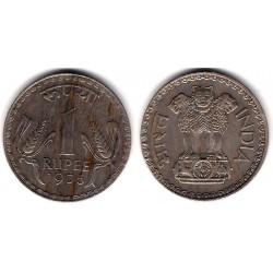 (78.1) India. 1975. 1 Rupee (EBC)