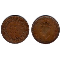 (530) India Británica. 1939. Quarter Anna (MBC)
