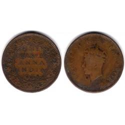 (530) India Británica. 1938. Quarter Anna (BC+)