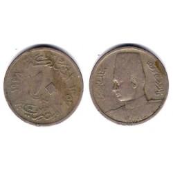(364) Egipto. 1938. 10 Milliemes (BC)