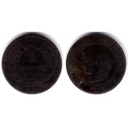 (821.1) Francia. 1876A. 5 Centimes (BC)