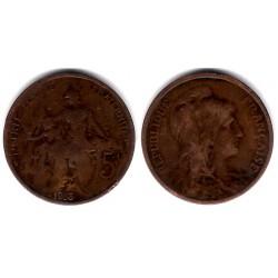(842) Francia. 1913. 5 Centimes (BC-)