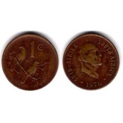 (91) Sudáfrica. 1976. 1 Cent (BC)