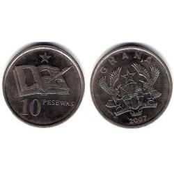 (39) Ghana. 2007. 10 Pesewas (EBC)