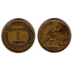 (876) Francia. 1923. 1 Franc (MBC-)