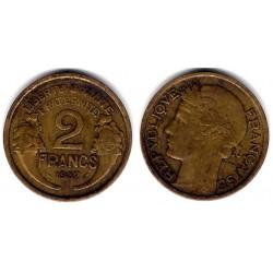 (886) Francia. 1932. 2 Francs (MBC-)