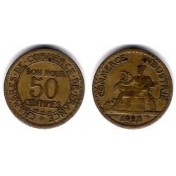 (884) Francia. 1923. 50 Centimes (BC)