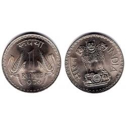 (78.1) India. 1976. 1 Rupee (EBC)