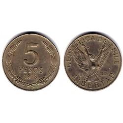 (209) Chile. 1978. 5 Pesos (EBC)