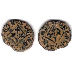 Carlos I. 1516-58. Pugesa (BC) Ceca de Lérida