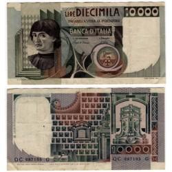 (106b) Italia. 1982. 10000 Lira (MBC) Pequeña rotura margen inferior