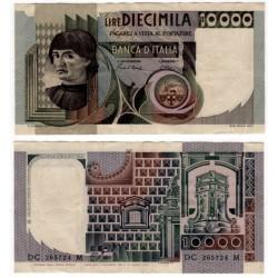 (106b) Italia. 1982. 10000 Lira (MBC) Pequeña rotura margen superior