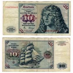 (31b) Alemania. 1977. 10 Mark (BC+)