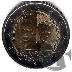 Luxemburgo. 2019. 2 Euro (SC)
