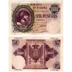 Estado Español. 1940. 1000 Pesetas (EBC+) Sin Serie